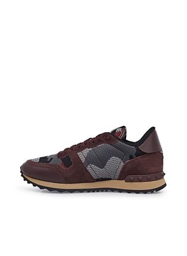 Valentino Sneaker Ayakkabı Erkek Ayakkabı S0723 Qrk Bb9 Siyah